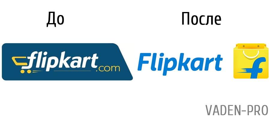 Логотип фирмы Flipkart