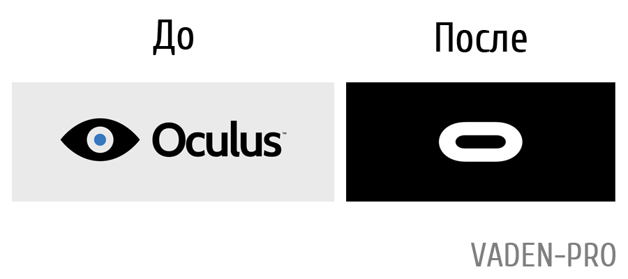 Логотип фирмы Oculus