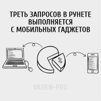 Треть запросов в рунете выполняется с мобильных гаджетов