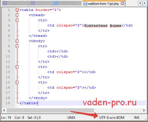 Темизация webform Drupal